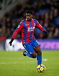 Crystal Palace's Jeffrey Schlupp in action during the premier league match at Selhurst Park Stadium, London. Picture date 12th December 2017. Picture credit should read: David Klein/Sportimage