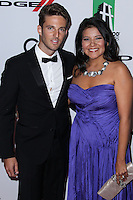 BEVERLY HILLS, CA - OCTOBER 21: Alex Hafner, Misty Upham at 17th Annual Hollywood Film Awards held at The Beverly Hilton Hotel on October 21, 2013 in Beverly Hills, California. (Photo by Xavier Collin/Celebrity Monitor)