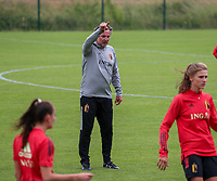 20200605 - TUBIZE , Belgium : Assistent-coach Kris Van Der Haegen pictured during a training session of the Belgian national women's soccer team called the Red Flames during their after Corona – Covid training week, on the 5 th of June 2020 in Tubize.  PHOTO SEVIL OKTEM| SPORTPIX.BE
