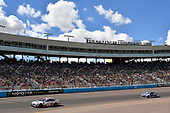 Monster Energy NASCAR Cup Series<br /> TicketGuardian 500<br /> ISM Raceway, Phoenix, AZ USA<br /> Sunday 11 March 2018<br /> Erik Jones, Joe Gibbs Racing, Toyota Camry Sport Clips and Alex Bowman, Hendrick Motorsports, Chevrolet Camaro Nationwide<br /> World Copyright: Rusty Jarrett<br /> NKP / LAT Images