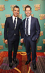 Sergio Trujillo and Jack Noseworthy attends the Broadway Opening Night After Party for 'A Bronx Tale' at The Marriot Marquis Hotel on December 1, 2016 in New York City.