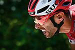 Daniel Navarro Garcia (ESP) Cofidis during Stage 10 of the 2018 Tour de France running 158.5km from Annecy to Le Grand-Bornand, France. 17th July 2018. <br /> Picture: ASO/Pauline Ballet | Cyclefile<br /> All photos usage must carry mandatory copyright credit (&copy; Cyclefile | ASO/Pauline Ballet)