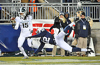 29 November 2014:  The Michigan State Spartans defeated the Penn State Nittany Lions 34-10 at Beaver Stadium in State College, PA.