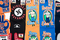 WWE merchandise was available for sale at kiosks in the arena concourse a WWE Live Summerslam Heatwave Tour event at the MassMutual Center in Springfield, Massachusetts, USA, on Mon., Aug. 14, 2017.