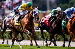 MAY 27: Vasilika with Flavien Prat wins the Gamely Stakes at Santa Anita Park in Arcadia, California on May 27, 2019. Evers/Eclipse Sportswire/CSM