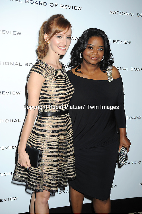 Ahna O'Reilly and Octavia Spencer attend The National Board of Review Film Awards Gala on January 10, 2012 at Cipriani 42nd Street in New York City.
