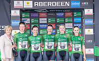 Picture by Allan McKenzie/SWpix.com - 17/05/2018 - Cycling - OVO Energy Tour Series Womens Race - Round 2:Aberdeen - Team Breeze maintain the overall lead after Aberdeen.