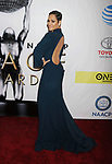 PASADENA, CA - FEBRUARY 11: Actress Grace Gealey arrives at the 48th NAACP Image Awards at Pasadena Civic Auditorium on February 11, 2017 in Pasadena, California.