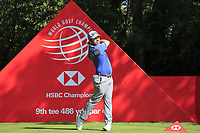 Louis Oosthuizen (RSA) on the 9th tee during the 2nd round of the WGC HSBC Champions, Sheshan Golf Club, Shanghai, China. 01/11/2019.<br /> Picture Fran Caffrey / Golffile.ie<br /> <br /> All photo usage must carry mandatory copyright credit (© Golffile   Fran Caffrey)