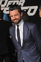 Dominic Cooper at the U.S. premiere of his movie &quot;Need for Speed&quot; at the TCL Chinese Theatre, Hollywood.<br /> March 6, 2014  Los Angeles, CA<br /> Picture: Paul Smith / Featureflash