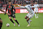03.11.2018, BayArena, Leverkusen, GER, 1. FBL,  Bayer 04 Leverkusen vs. TSV 1899 Hoffenheim,<br />  <br /> DFL regulations prohibit any use of photographs as image sequences and/or quasi-video<br /> <br /> im Bild / picture shows: <br /> Kai Havertz (Leverkusen #29),  im Zweikampf gegen  Kevin Akpoguma (Hoffenheim #25),   <br /> Foto &copy; nordphoto / Meuter