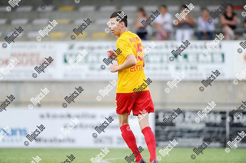 2015-08-08 / Voetbal / Seizoen 2015-2016 / KFC Oosterzonen / Stef Vervoort<br /><br />Foto: Mpics.be