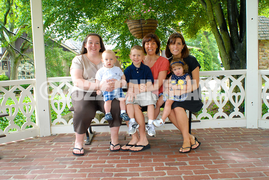 LAHASKA, PA - JUNE 4: The Dudley family is photographed June 5, 2012 in Lahaska, Pennsylvania. (Photo by William Thomas Cain/Cain Images)