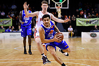 Saints&rsquo; Shea Ili in action during the NBL - Cigna Saints v Canterbury Rams at TSB Arena, Wellington, New Zealand on Tuesday 3 July 2018.<br /> Photo by Masanori Udagawa. <br /> www.photowellington.photoshelter.com