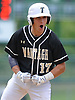 Anthony D'Onofrio #17 of Wantagh reacts after breaking a 2-2 tie with a run-scoring single in the top of the sixth inning of Game 3 of the Nassau County varsity baseball Class A final against Garden City at SUNY Old Westbury on Tuesday, May 30, 2017. Wantagh went on to win 4-2 to win the best-of-three series two games to one.