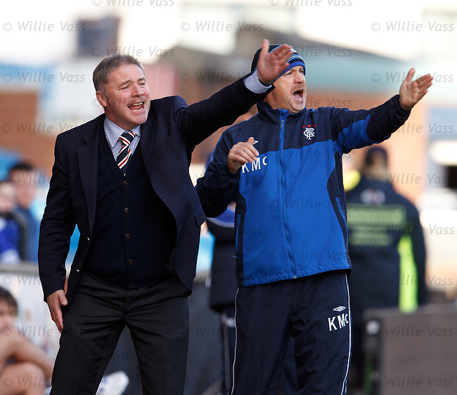 Ally McCoist and Kenny McDowall urge Rangers to do better