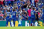 Getafe CF's team celebrate victory during La Liga match. May 05,2019. (ALTERPHOTOS/Alconada)