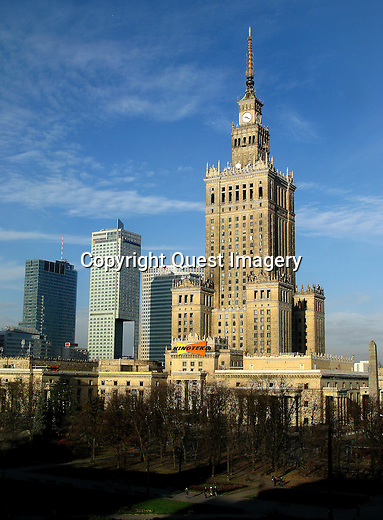 Warsaw is the capital and largest city of Poland. It is located on the Vistula River, in east-central Poland, roughly 160 miles from the Baltic Sea and 190 miles from the Carpathian Mountains. Warsaw is the 9th most populous capital city in the European Union.<br /> Photo by Deirdre Hamill/Quest Imagery