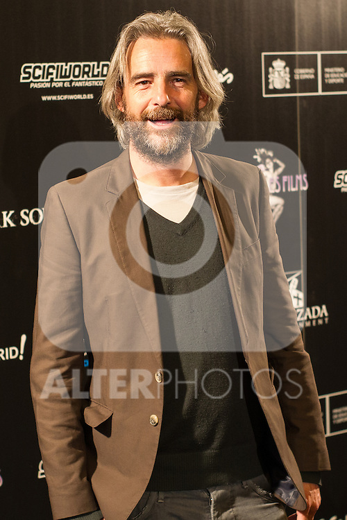 Manuel Romo at Nocturna, the international festival of fantastic cinema of Madrid. May 23,2016. (ALTERPHOTOS/Rodrigo Jimenez)