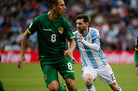 Seattle, WA - Tuesday June 14, 2016: Argentina midfielder Lionel Messi (10) during a Copa America Centenario Group D match between Argentina (ARG) and Bolivia (BOL) at CenturyLink Field