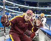 Mike Guentzel (Minnesota - Associate Head Coach) - The University of Minnesota Golden Gophers practiced on Wednesday, April 4, 2012, during the 2012 Frozen Four at the Tampa Bay Times Forum in Tampa, Florida.