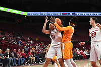 NWA Democrat-Gazette/J.T. WAMPLER Arkansas lost 90-85 to Tennessee Thursday Feb. 8, 2018 at Bud Walton Arena in Fayetteville.