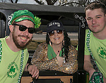 Donald, Angela and Casey during the Shamrock Shuffle 5k fun run in Sparks on Saturday, March 4, 2017.