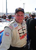 May 2, 2008; Richmond, VA, USA; NASCAR Nationwide Series driver Johnny Chapman during the Lipton Tea 250 at the Richmond International Raceway. Mandatory Credit: Mark J. Rebilas-