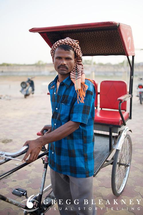 Rickshaw Wallah (non-tourist) - Jaipur, India