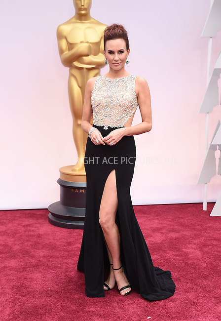 WWW.ACEPIXS.COM<br /> <br /> February 22 2015, LA<br /> <br /> Keltie Knight arriving at the 87th Annual Academy Awards at the Hollywood &amp; Highland Center on February 22, 2015 in Hollywood, California.<br /> <br /> By Line: Z15/ACE Pictures<br /> <br /> <br /> ACE Pictures, Inc.<br /> tel: 646 769 0430<br /> Email: info@acepixs.com<br /> www.acepixs.com