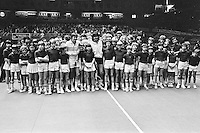 1978,Netherlands,ABN tennis Tournament, Rotterdam,Jimmy Connors (USA) and  Ramirez between the ballkids