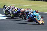 GP Moto Australia during the Moto World Championship 2014 in Phillip Island.<br /> Moto3<br /> alex rins<br /> Rafa Marrodán/PHOTOCALL3000