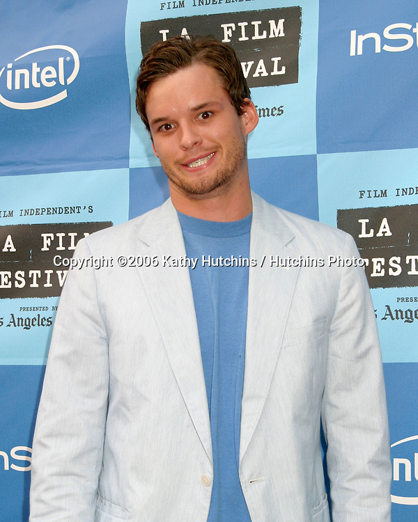 "Austin Nichols.""The Lather Effect"" Premiere.Mann's Festival Theater.Westwood, CA.June 26, 2006.©2006 Kathy Hutchins / Hutchins Photo...."