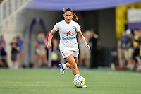 Orlando, FL - Saturday Sept. 24, 2016: Lo'eau LaBonta during a regular season National Women's Soccer League (NWSL) match between the Orlando Pride and FC Kansas City at Camping World Stadium.