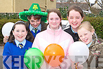 Alison McGaley, Samantha Roche, Christina McAulliffe, Selina McCarthy and Sheila Griffin at the Castleisland St Patricks Day parade on Monday   Copyright Kerry's Eye 2008