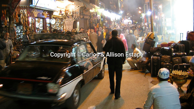 Night in the Bazaar, Cairo, Egypt