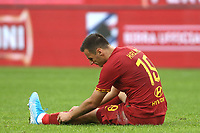 Nikola Kalinic of AS Roma injured <br /> Genova 20-10-2019 Stadio Luigi Ferraris <br /> Football Serie A 2019/2020 Sampdoria - AS Roma <br /> Photo Gino Mancini / Insidefoto