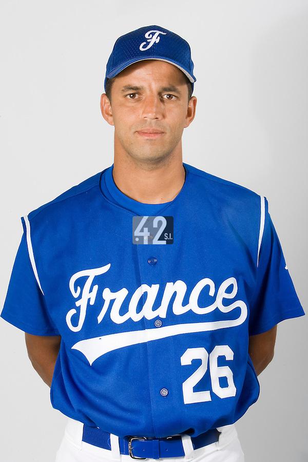 15 Aug 2007: Jamel Boutagra - Team France Baseball