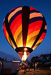 Statesville Balloon Rally Balloon Glow