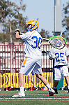 Santa Barbara, CA 04/16/16 - Peter Brydon (UCSB #30) in action during the final regular MCLA SLC season game between Chapman and UC Santa Barbara.  Chapman defeated UCSB 15-8. in action during the final regular MCLA SLC season game between Chapman and UC Santa Barbara.  Chapman defeated UCSB 15-8.