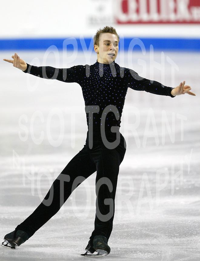 Shawn Sawyer Canada 2006 World Figure Skating Championships Calgary Photo Scott Grant