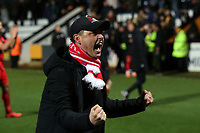 O's coach Ross Embleton at FT during Cambridge United vs Leyton Orient, Sky Bet EFL League 2 Football at Abbey Stadium on 21st December 2019