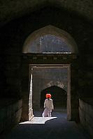 Indian Man at Daulatabad Fort Aurangabad