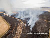 63863-02917 Prescribed Burn by IDNR Prairie Ridge State Natural Area Marion Co. IL