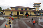 Arrival At Francisco de Orellana Airport, Coca,On The Way to Tiputini
