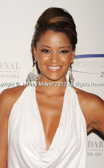 wwCENTURY CITY, CA - MAY 20: Claudia Jordan arrives at the 27th Anniversary of Sports Spectacular at the Hyatt Regency Century Plaza on May 20, 2012 in Century City, California.