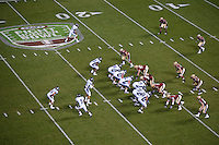 SAN FRANCISCO, CA--Nevada vs Boston College at the inaugural Kraft Fight Hunger Bowl at AT&T Park in San Francisco, CA.