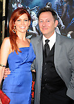 "HOLLYWOOD, CA. - June 08: Carrie Preston and Michael Emerson arrive at HBO's ""True Blood"" Season 3 Premiere at ArcLight Cinemas Cinerama Dome on June 8, 2010 in Hollywood, California."