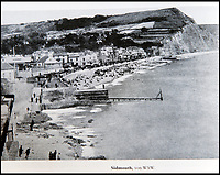 BNPS.co.uk (01202 558833)<br /> Pic: PhilYeomans/BNPS<br /> <br /> Even genteel Sidmouth was photographed and mapped.<br /> <br /> Chilling - Hitlers 'How to' guide to the invasion of Britain.<br /> <br /> A remarkably detailed invasion plan pack of Britain has been unearthed to reveal how our genteel seaside resorts would have been in the front line had Hitler got his way in World War Two.<br /> <br /> The Operation Sea Lion documents, which were issued to German military headquarters' on August 1, 1940, contain numerous maps and photos of every town on the south coast.<br /> <br /> They provide a chilling reminder of how well prepared a German invading force would have been had the Luftwaffe not been rebuffed by The Few in the Battle of Britain.<br /> <br /> There is a large selection of black and white photos of seaside resorts and notable landmarks stretching all the way from Land's End in Cornwall to Broadstairs in Kent.<br /> <br /> The pack also features a map of Hastings, raising the possibility that a second battle could have been staged there, almost 900 years after the invading William The Conqueror triumphed in 1066.
