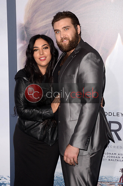 "Hila Cage Coppola, Weston Cage Coppola<br /> at the ""Adrift"" World Premiere, Regal Cinemas L.A. Live, Los Angeles, CA 05-23-18<br /> David Edwards/DailyCeleb.com 818-249-4998"